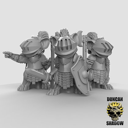 Mousle Knights (pre supported)