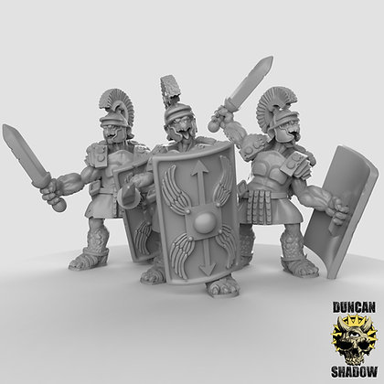 Tortol sword and shields (pre supported)