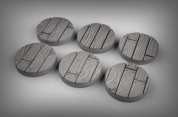Wooden floor bases