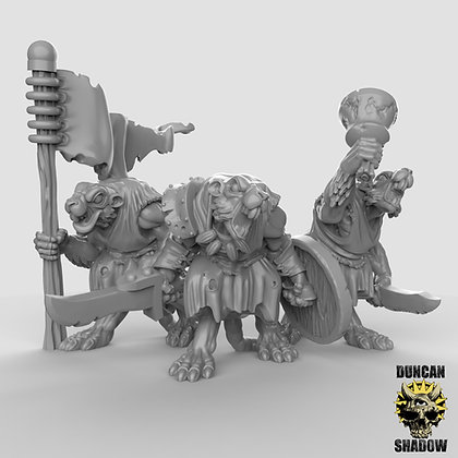 Rat Folk Command (pre supported)