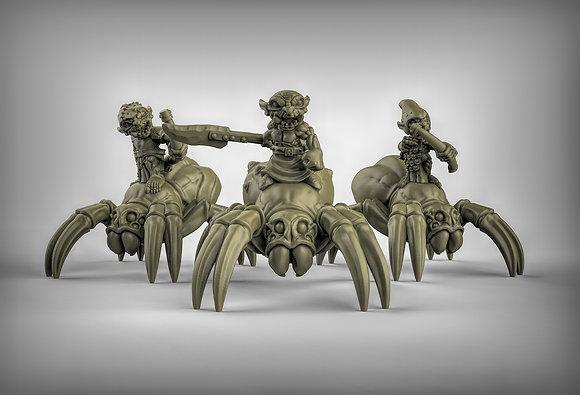 Goblin Spider Riders