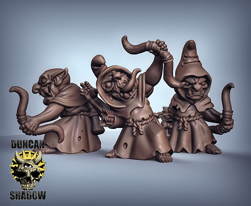 Goblins with Bow (pre supported)