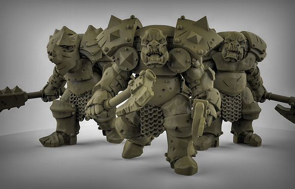 Heavily Armored Orc's