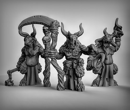 Beastmen Shaman (Multi weapons)