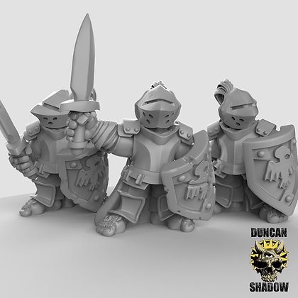 Halfling Paladins (pre supported)