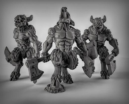 Beastmen With Axes