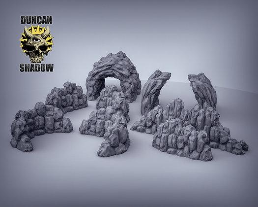 Rock Walls Terrain