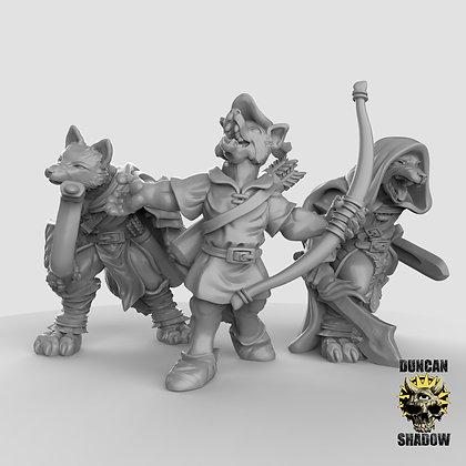 Kitsune Fox Folk Rangers (pre Supported)