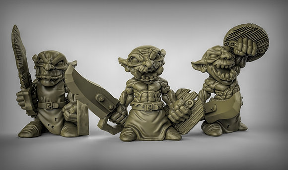 Goblins With swords and Shields