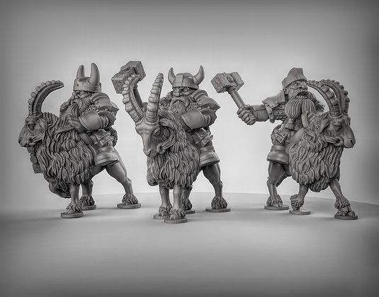 Dwarf Goat riders