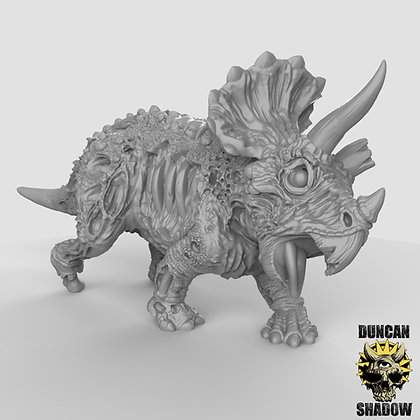 Undead Triceratops (Pre Supported)