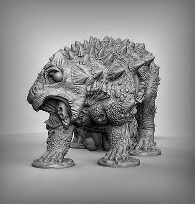 Zombie Ankylosaurus
