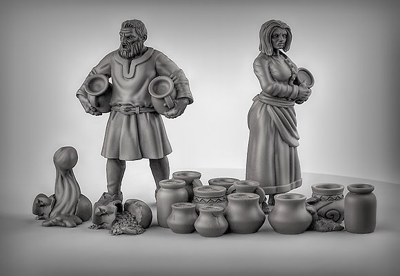 NPC's pots