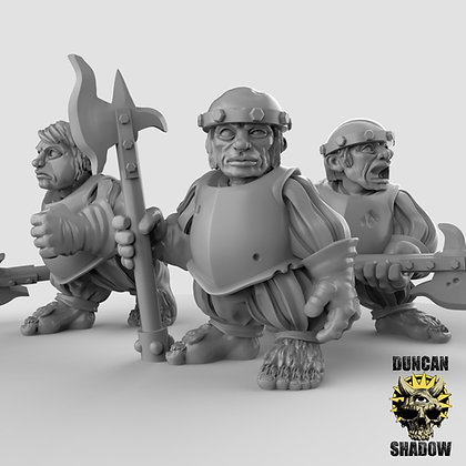 Halfling with Poll arms (pre supported)
