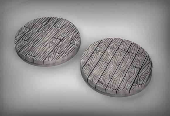 Wooden floor bases 50mm