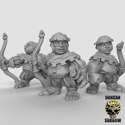 Halflings with Bows (pre supported)