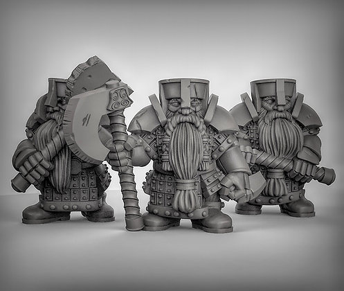 Dwarves With Greataxes