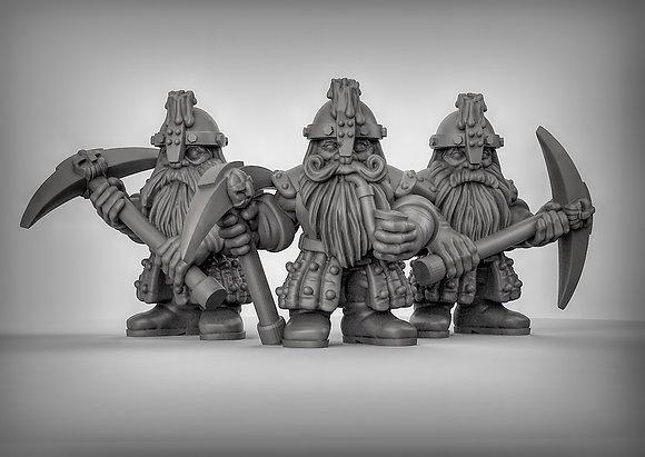 Dwarf Miners