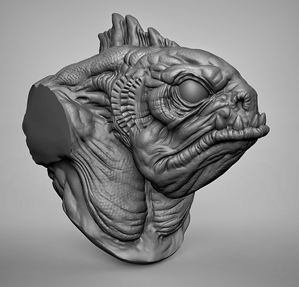 Deepone_bust