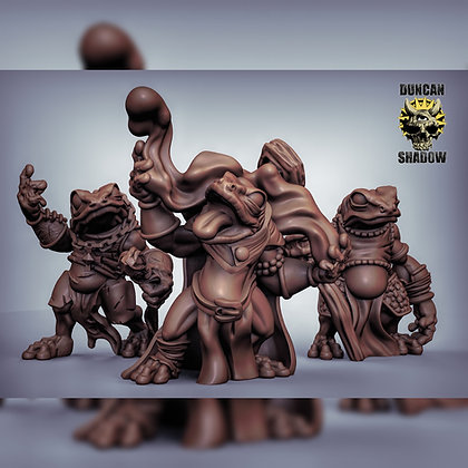 Boggard sorcerers  (pre supports)