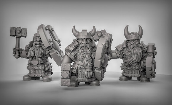 Armored Dwarfs