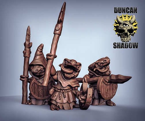 Kobolds With Spears (PreSupported)