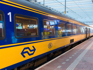 オランダの電車は100%風力発電を利用