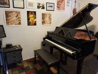 She's home! (Yamaha C3X Grand Piano)