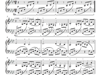 You can now download my sheet music!