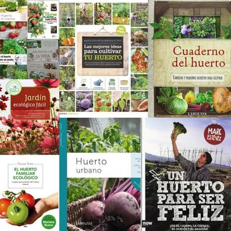 Los 10 mejores libros sobre huertos ecológicos