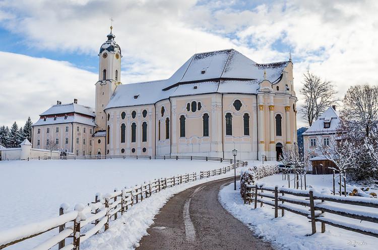 Church of Wies Exterior