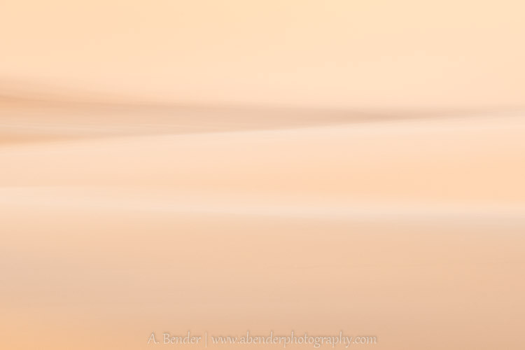 Coral Pink Sand Dune Abstract