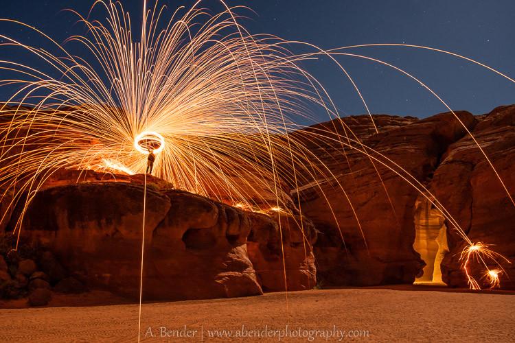 Antelope Canyon Nighttime Fun
