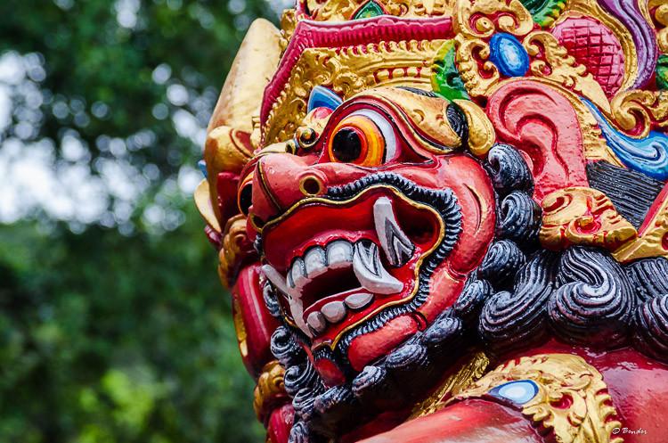 """Monkey God"" Pemuteran, Bali"