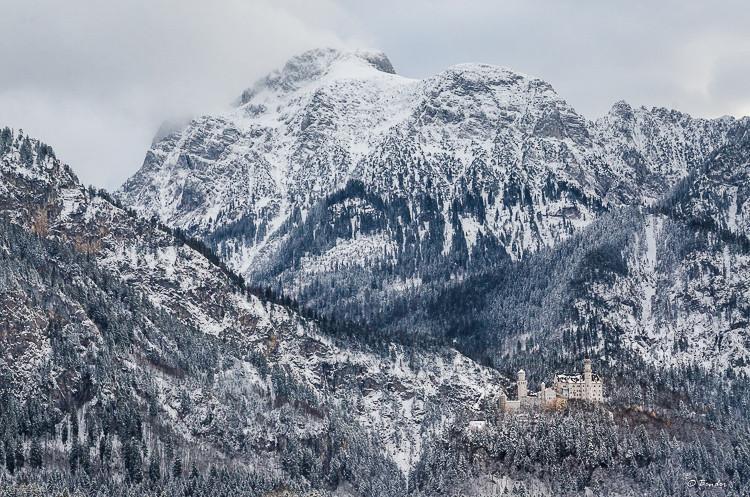 Neuschwanstein Landscape II
