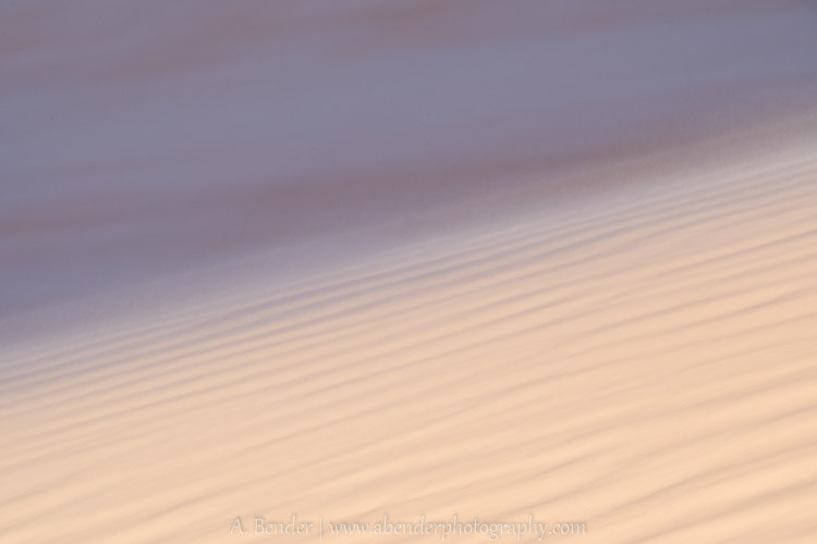 Coral Pink Sand Dunes Abstract II
