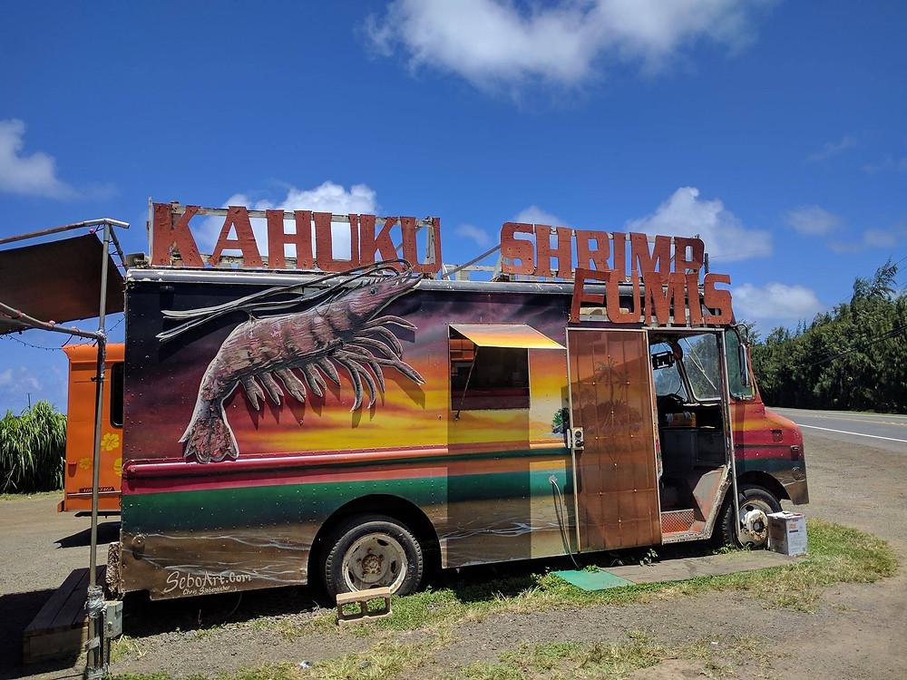 Fumi's Shrimp food truck