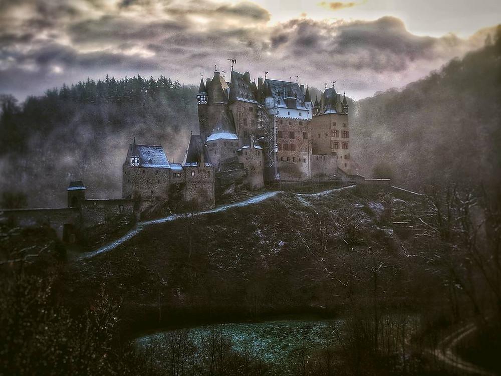 Burg Eltz in the Mist