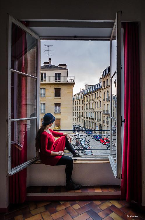 Self Portrait in Paris