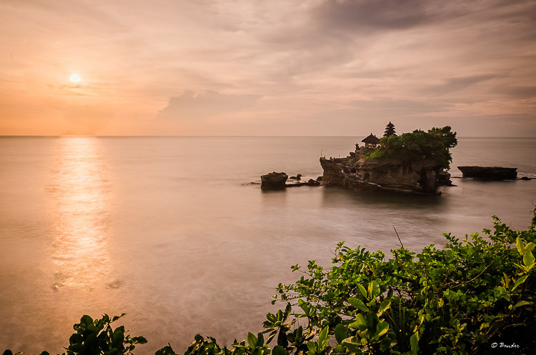 """Sunset at Tanah Lot"" Tanah Lot, Bali"