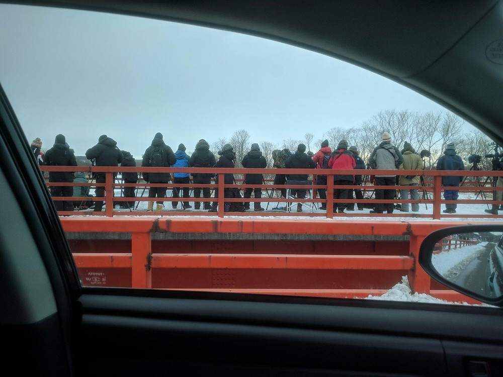 Crowded Otowa Bridge