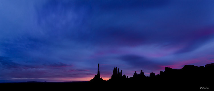 """Stormy Sunrise Over the Navajo Nation"" Monument Valley"