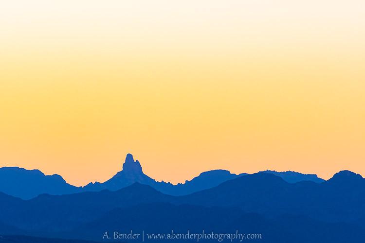 Painter's Sunrise, McDowell Mountains, Arizona