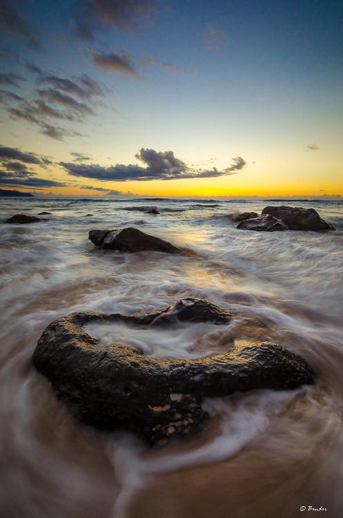 Chun's Reef Beach Sunset