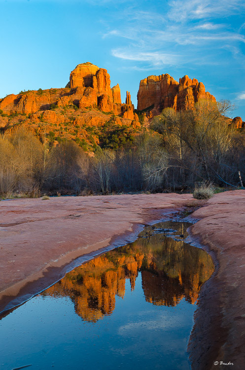 Classic Cathedral Rock Reflection