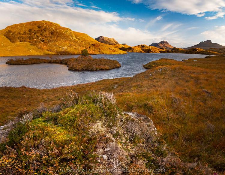 Western Highland Loch, Ullapool, Scotland