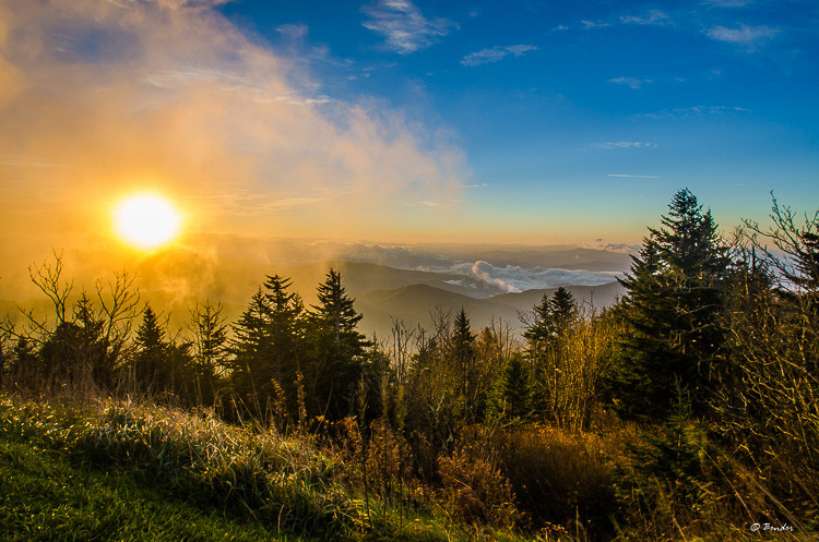 Clingman's Dome Sunrise
