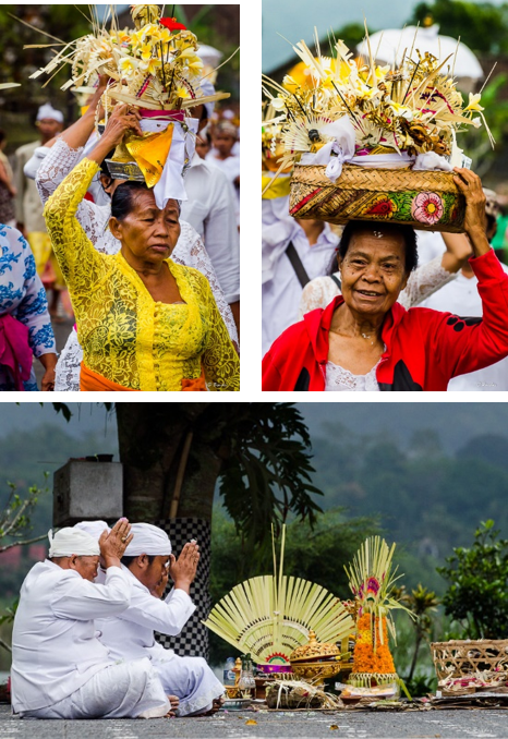 More images of traditional Balinese ceremonies.