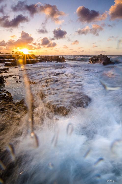 Sandy Beach Splash zone