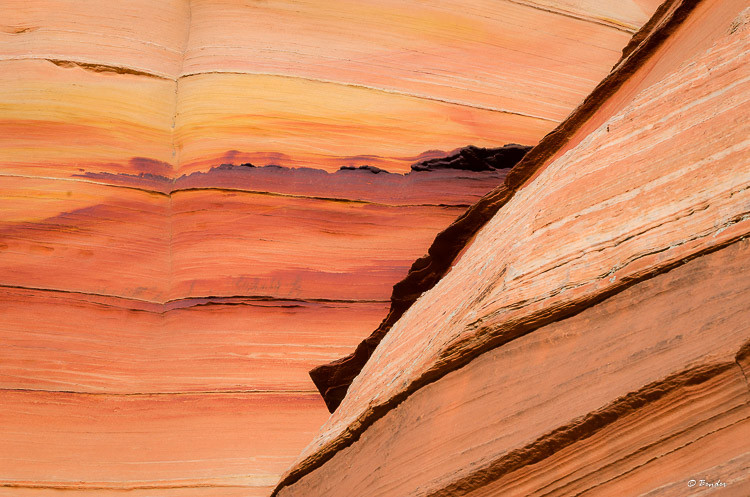 South Coyote Buttes layer detail